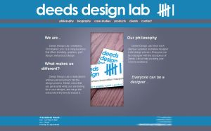 Web site - Deeds Design Lab by br8086