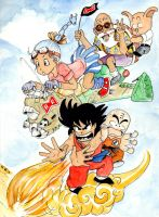 DND Paris : Dragon Ball by emalterre