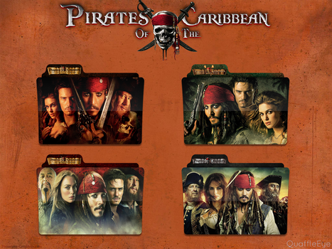 Pirates of the Caribbean Icon Folder Pack by QuaffleEye