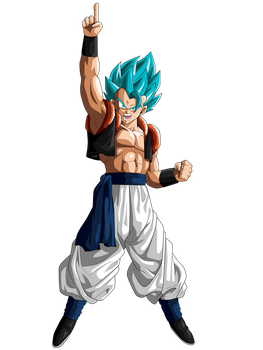 Gogeta Super Saiyan Blue by ChronoFz