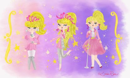 Barbie and the Rockers - looks-2 by Louise-Rosa