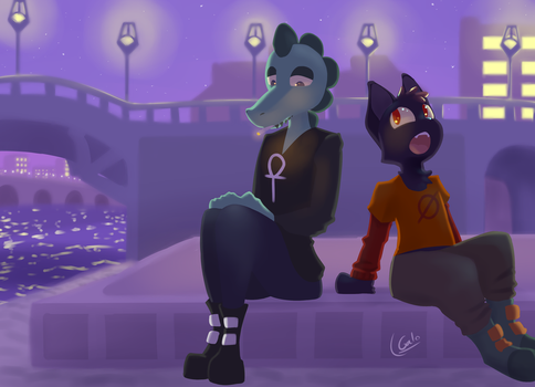 Mae and Bea by Galo27