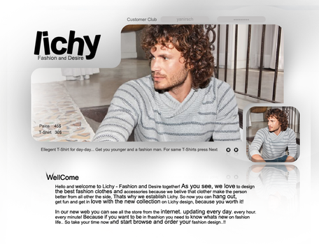 lichy - mans design by yanirsch