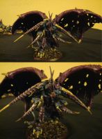 Winged Hive Tyrant Dual-shot by DragonOfHuecoMundo