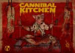 Cannbal Kitchen by ayillustrations