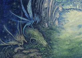 Encounters with the Imaginary - Cordyceps Faeries by thedancingemu
