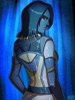 SWTOR I feel Blue, Chiss by Suppa-Rider by Aliens-of-Star-Wars