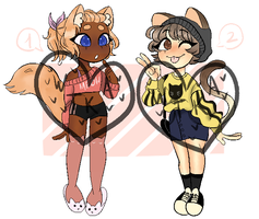 Cats [Open][Auction] by WayTooKawaiiAdopts