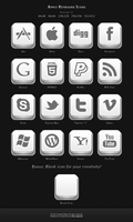 Apple Keyboard Icons by AndrewBadger