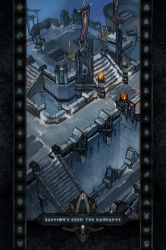Locations II #15: Bastion's Keep: The Ramparts by Holyknight3000