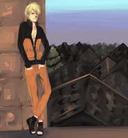 Naruto up to Something Devious by SimplyPab