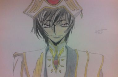 Lelouch's Colour Drawing by StefanosDTsougranis