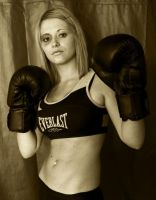 boxing girl by nigelsurfbum