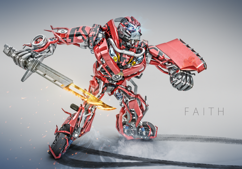 Faith (Autobot) by electrofilms