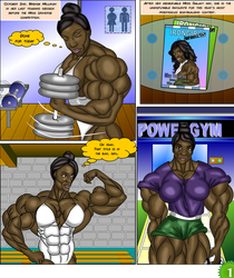 Angie Nakamura #1 page 1 by LordKelvin