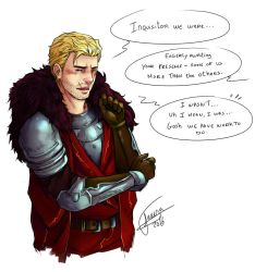 Teasing Cullen by PhelRina