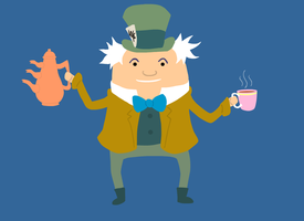 14. Mad Hatter by brobe