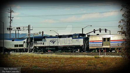 Amtrak 132 and 507 by KitKat37