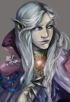 Aion Asmo sorcerer by soanvalentine