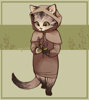 You are a Kitten in a Catnip Forest by irish-hugz