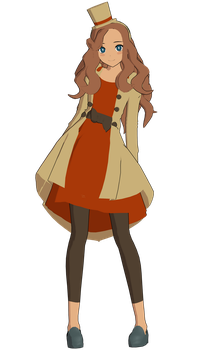 ./Lady Katrielle Layton/. by Mad-Darkness