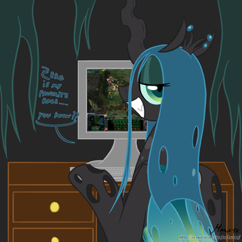 MLP: Playing Starcraft 2 by SrMario