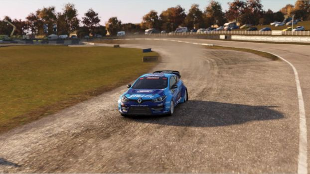 Rallycross Clio by SonicAndTailsfan64