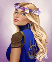 Commission: Anastashia by HalChroma
