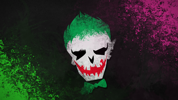 Suicide Squad - Joker Wallpaper by Klarkao