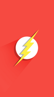 The Flash Wallpaper iPhone 6 Plus by lirking20