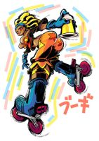 Jet Set Radio fanart : Boogie by Rafchu