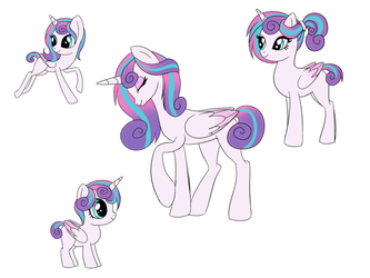 Flurry Heart Concepts by serra20