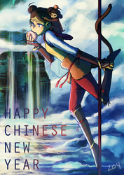 Happy Chinese New Year 2016! by a-z04