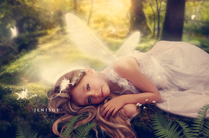 Tired Fairy by Jeni-Sue