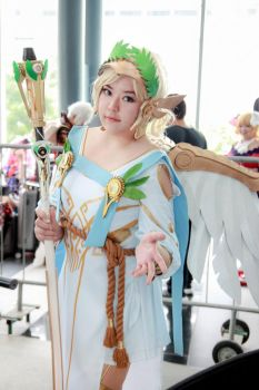 Overwatch - Winged Victory Mercy by Xeno-Photography