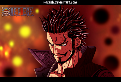 One Piece - Mihawk by Kozahh