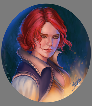 Triss by TanyaGreece