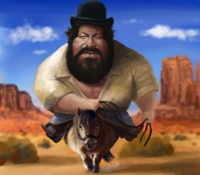 Bud Spencer by DVLArt