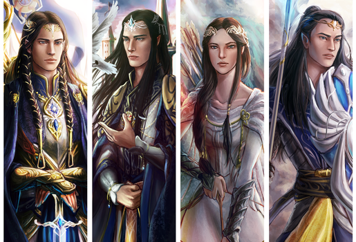 Tolkien : House Of Fingolfin by ForeverMedhok