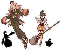 SOLO'S FAVORITE POKEMON - Halloween Special [X] by azume-adopts