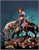 Bloodrayne: Deathstaker Colors by Darry