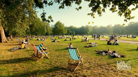 London In Summer Colours by couleur
