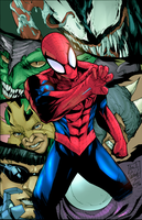 Spiderman by NimeshMorarji
