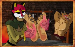 Haa - The Masked and the Muscles by TheUrgeWithin
