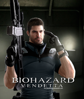 Resident Evil Vendetta - Chris Redfield Render by LitoPerezito
