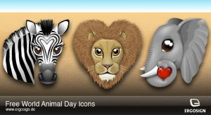 Icons for World Animal Day by ergosign