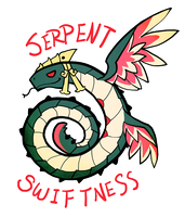 Smite - Serpent Swiftness (Chibi) by Zennore