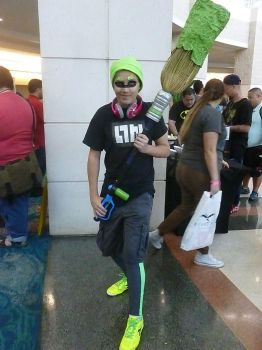 Supercon '17: Green Inkling by NaturesRose