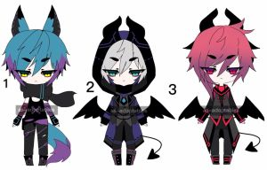 cyber punk kemonomimi adoptables  closed by AS-Adoptables