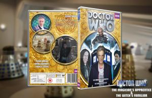 Custom Dr Who Cover - The Magicians Apprentice by GrantBattersby